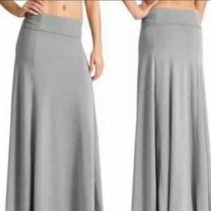 Athleta Gray Kali Convertible Maxi Skirt Dress